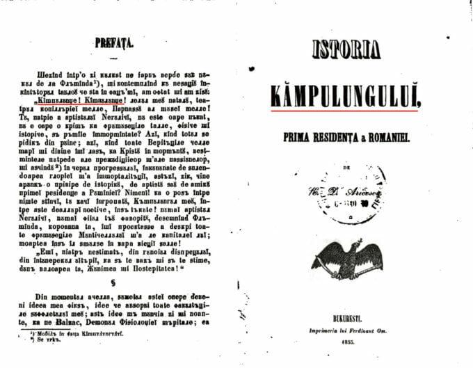 copertă carte gramatică 1859