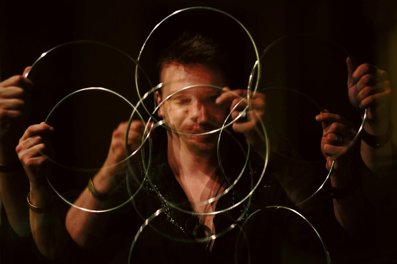 truc de magie cu cercuri