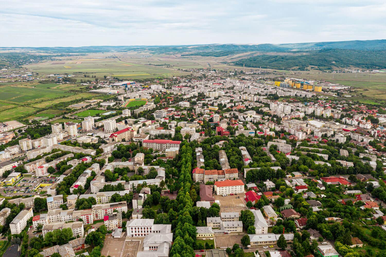 panorama orașului Vaslui