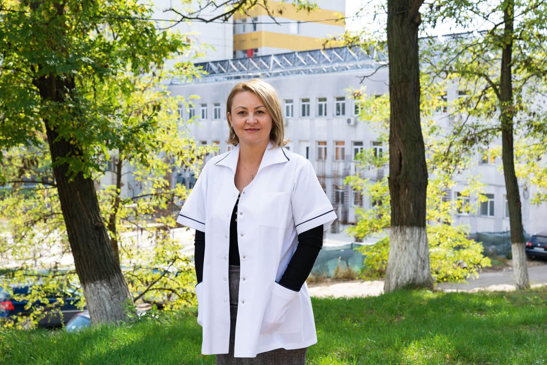 portret manager Spitalul Județean de Urgență, Anna Rinder.