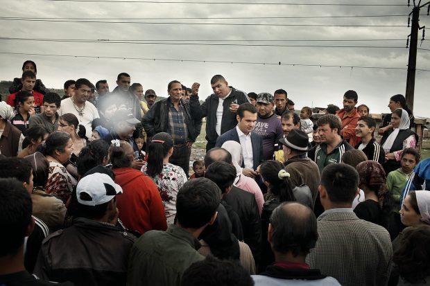 Primarul în fața cetățenilor.
