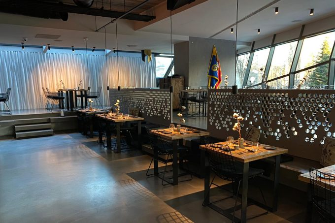 Restaurantul Kaiamo gol din cauza coronavirusului.