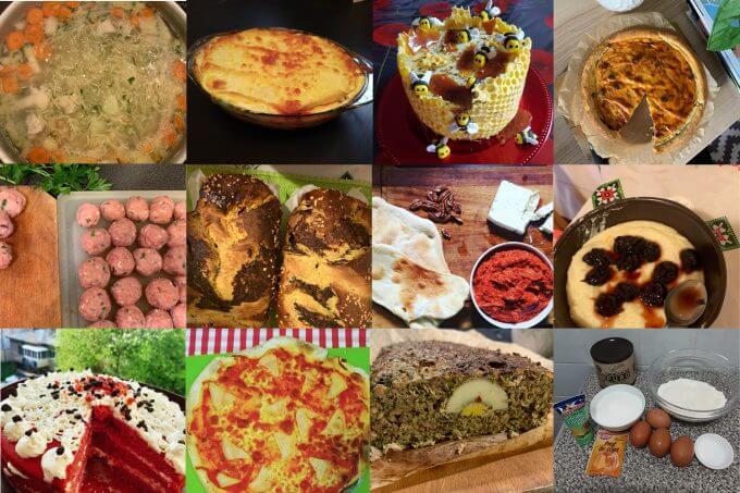 mâncăruri de la cei care gătesc după rețetele Jamilei
