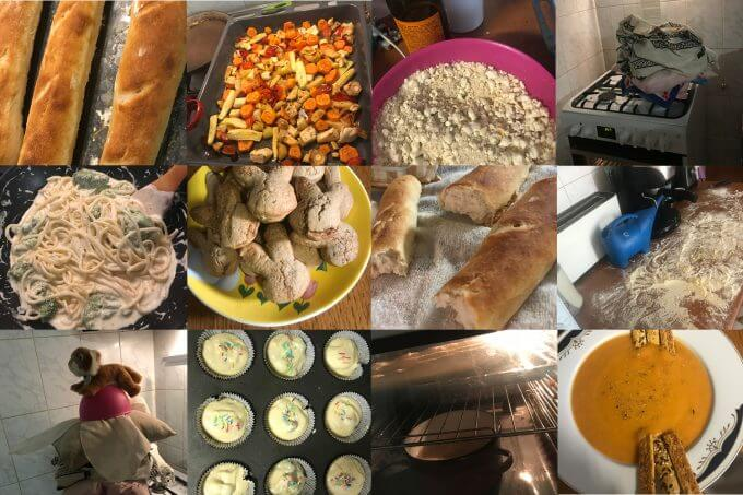 rețete Jamila, de la baghetă franțuzească, pui în crustă și supă de legume