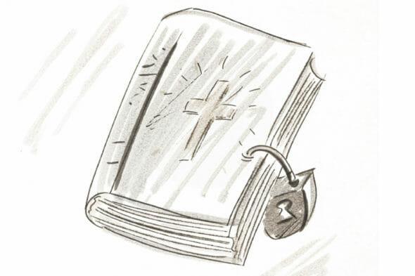biblie cu lacăt