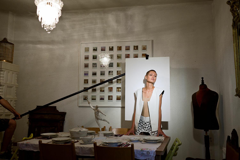 Diana Bobina, studentă la Modă