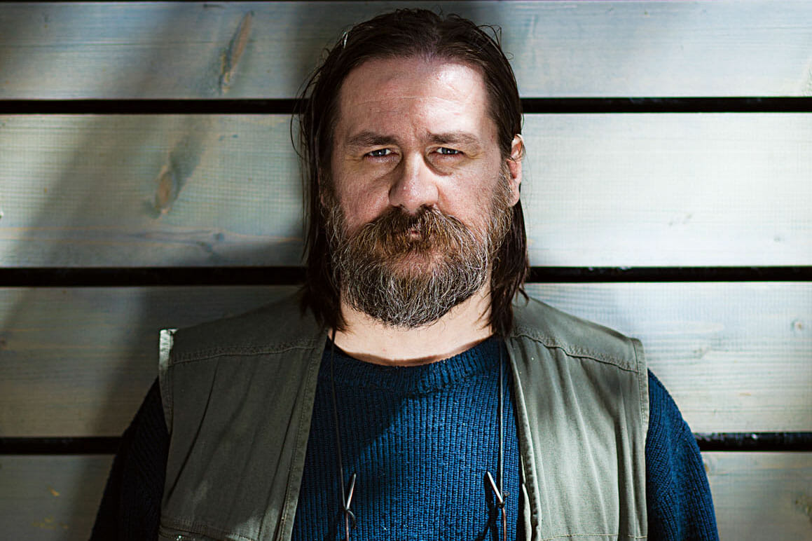 Portret Dan Perjovschi