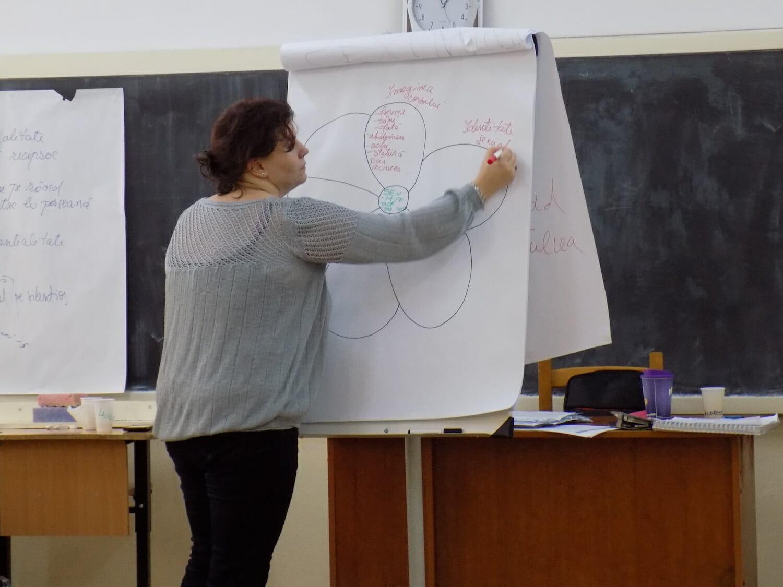 elevii studiază penisul