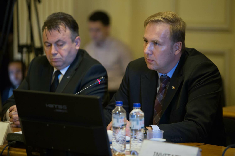 Nelu Tătaru și Costache la o audiere
