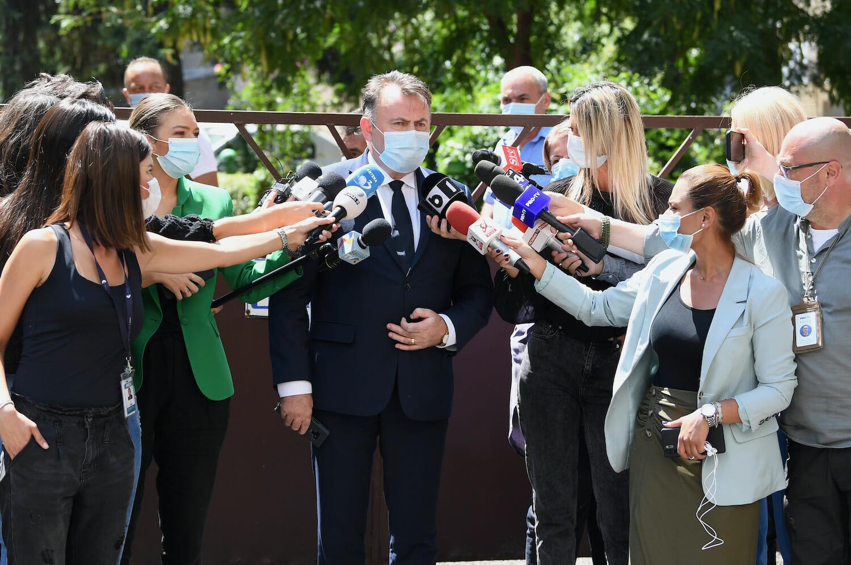 Nelu Tătaru după o ședință DSP