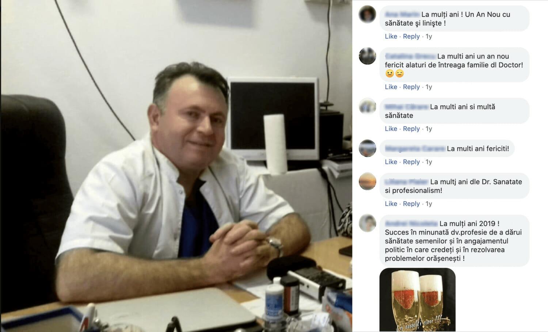 Captură de ecran de pe profilul de facebook al lui Nelu Tătaru