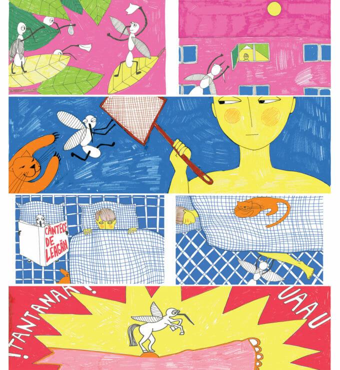 Călătoria eroului, ilustrată de Andreea Chirică