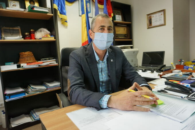 primarul comunei Răchiți, Florin Bulgaru