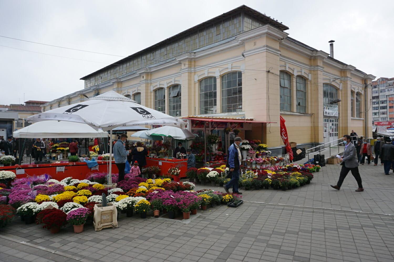 Piața centrală, Botoșani