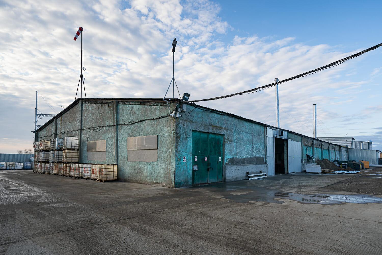 Clădirea incineratorului din Smârdan.