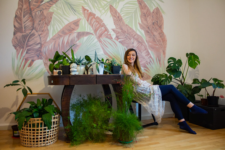 Mihaela Mia și plantele ei