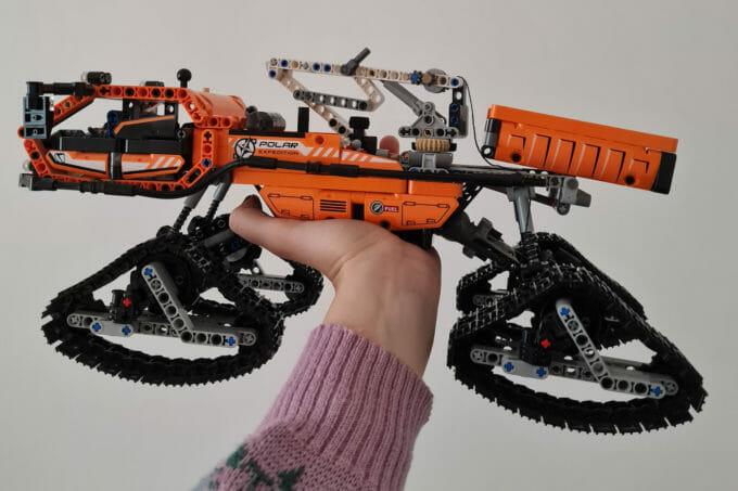 O construcție din Lego făcută de Ioana