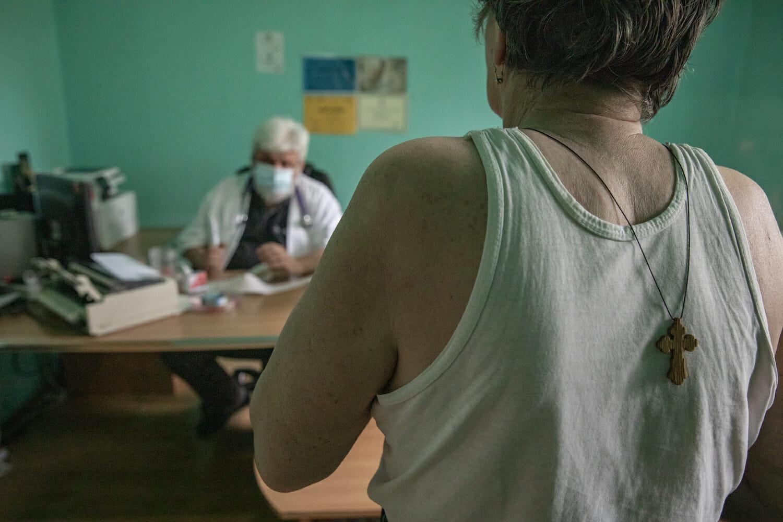Un pacient în vizită la dr. Boulescu.