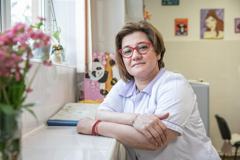 Portretul mediciului Nadia Butum
