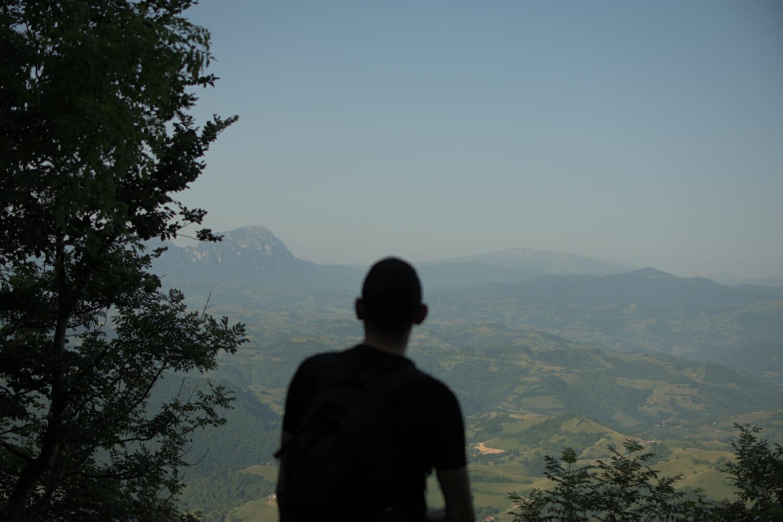 Bogdan pe munte